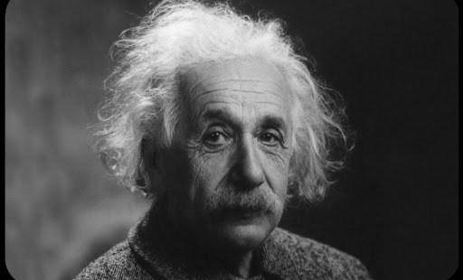 Photo of the great scientist Dr. Albert Einstein