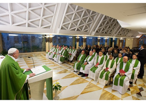 Pope Francis -- homily