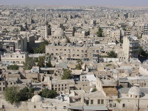 Aleppo Syria in 2007