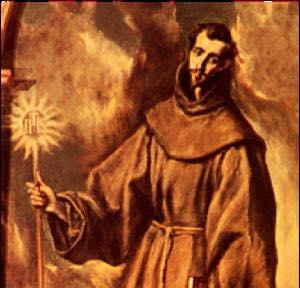 St. Bernardine of Siena, ora pro nobis