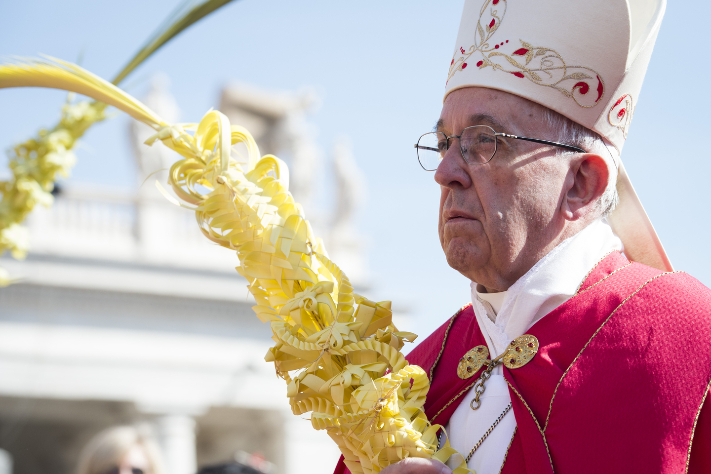 Pope Francis - Sunday - Palm March 20, 2016