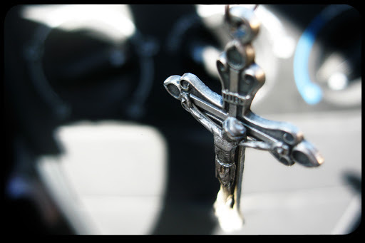 crucifix dangle