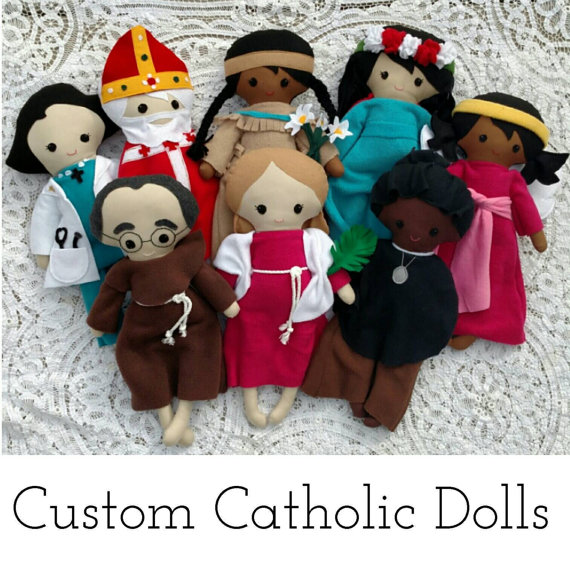 saint dolls
