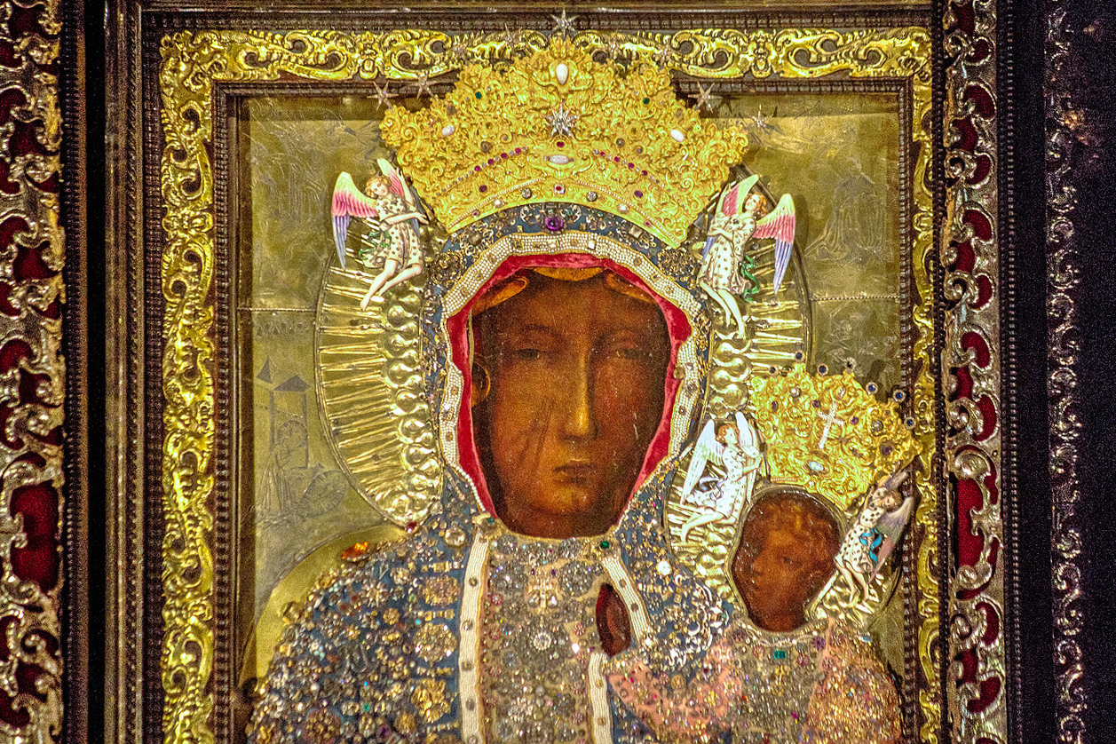 Our Lady of Czestochowa Icon. Photo Credit Robert Drózd CC via Wikipedia