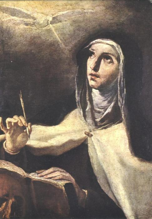 You don't have to be Teresa of Avila to keep a journal!