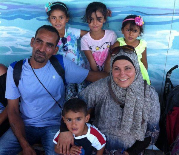 Mohammed, Maisun and children/Edward Mulholland