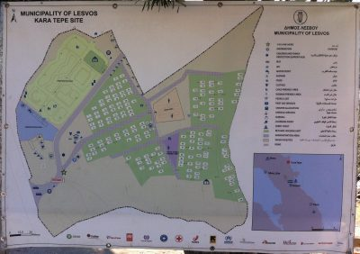 Kara Tepe camp map/Edward Mulholland
