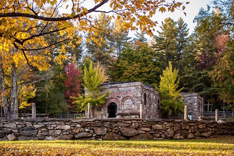 Near Jamaica, Vermont, there is an exact replica, as realistic and accurate as possible, of the Holy House of Ephesus.