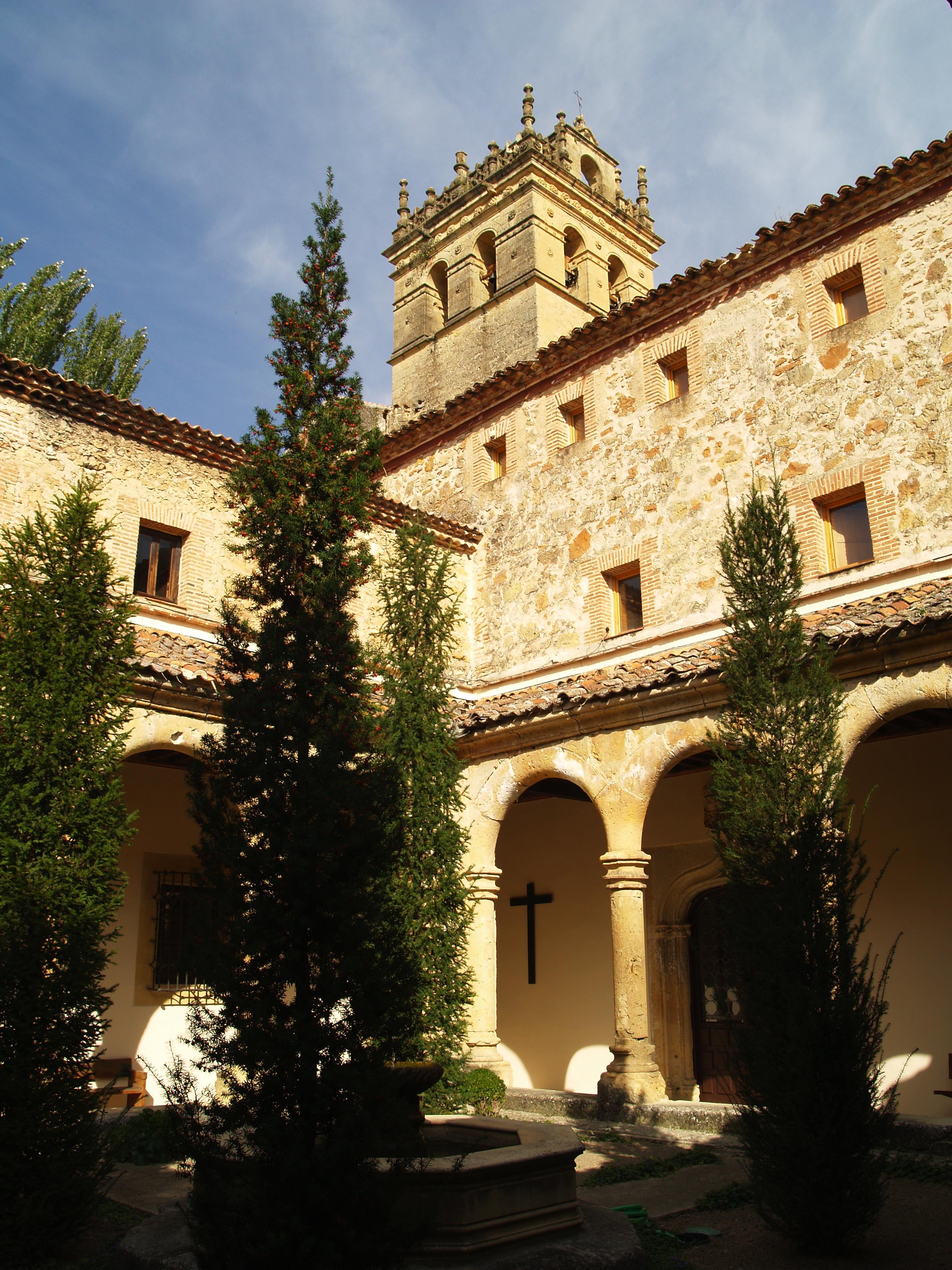Cloister of El Parral Monastery. Photo by Miguel Hermoso Cuesta
