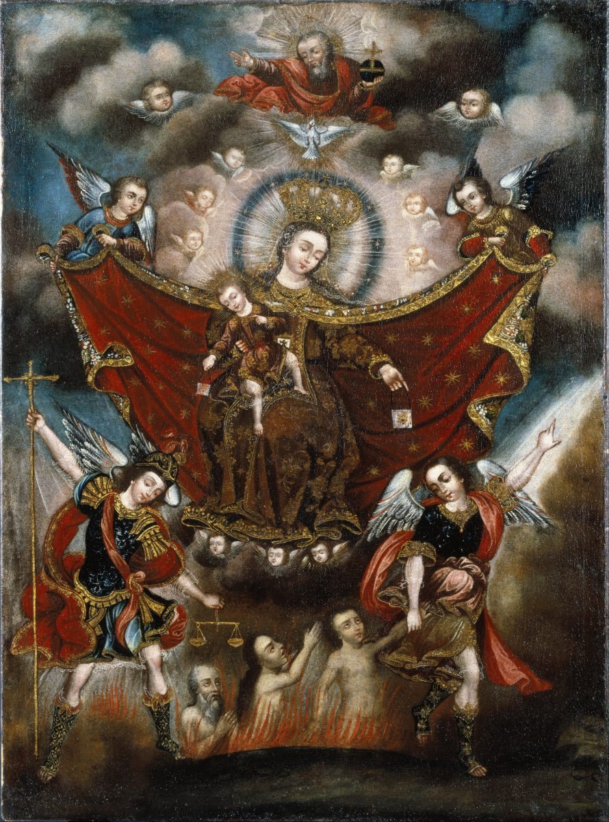 Virgin of Carmel Saving Souls in Purgatory/17th Century