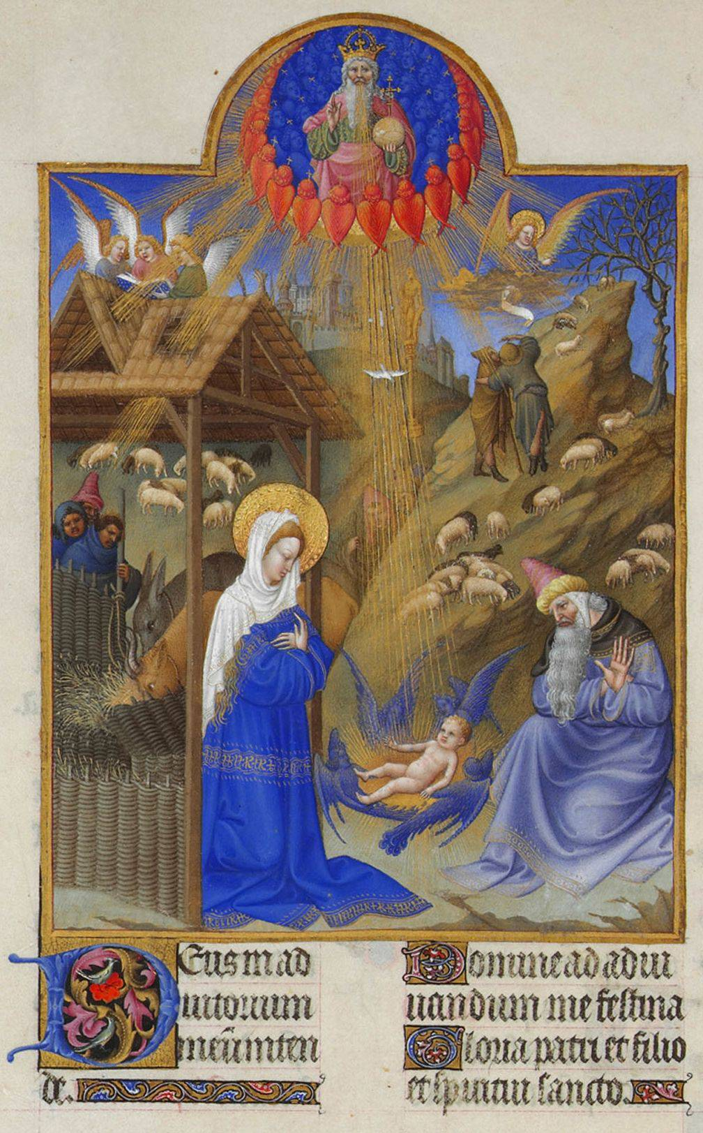 Christmas, far from being celebrated on a single day, covered twelve, from December 25th to January 6th, the feast of the Epiphany (our Three King's Day).