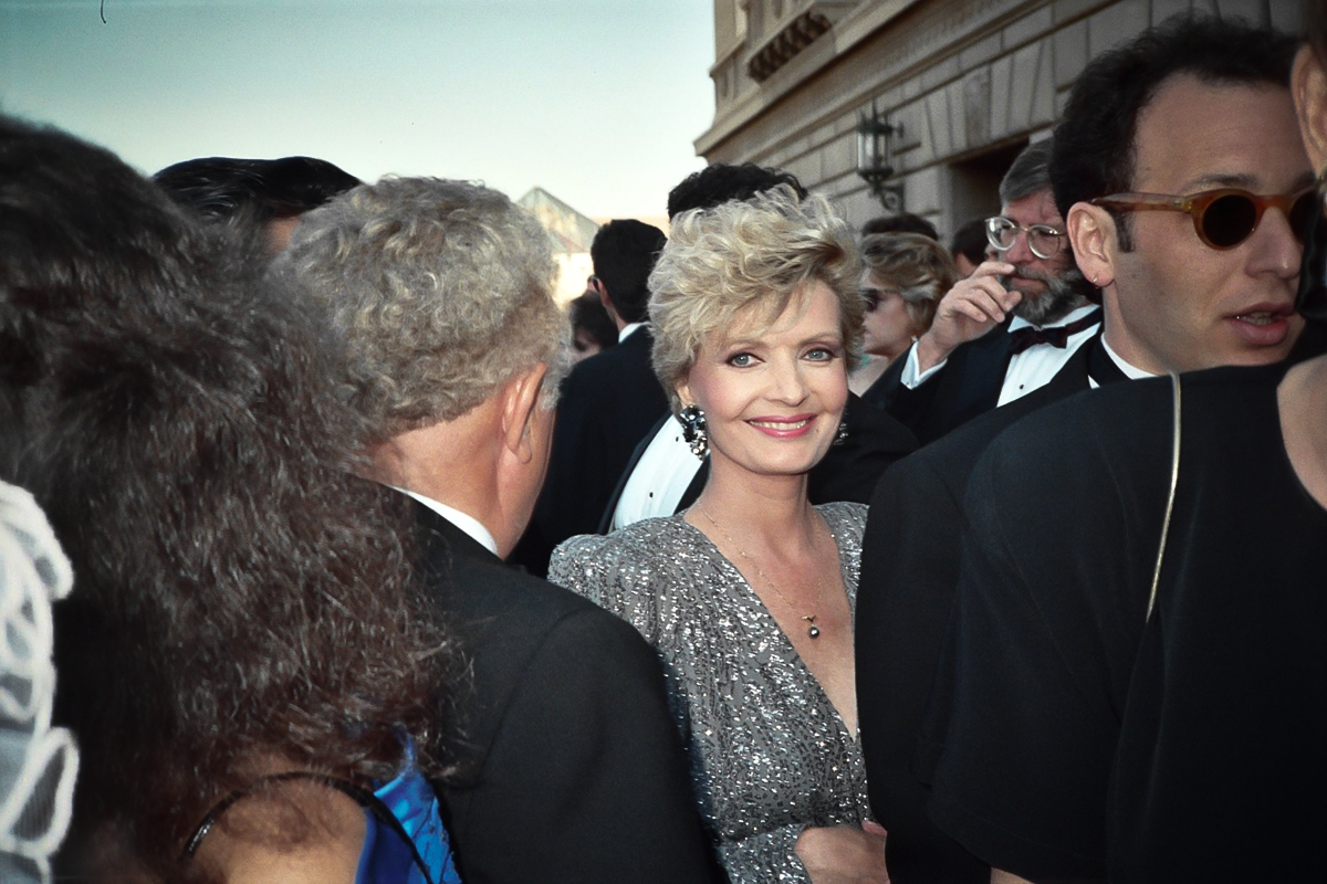 Florence Henderson at the 1989 Emmy Awards. Photo by Alan Light