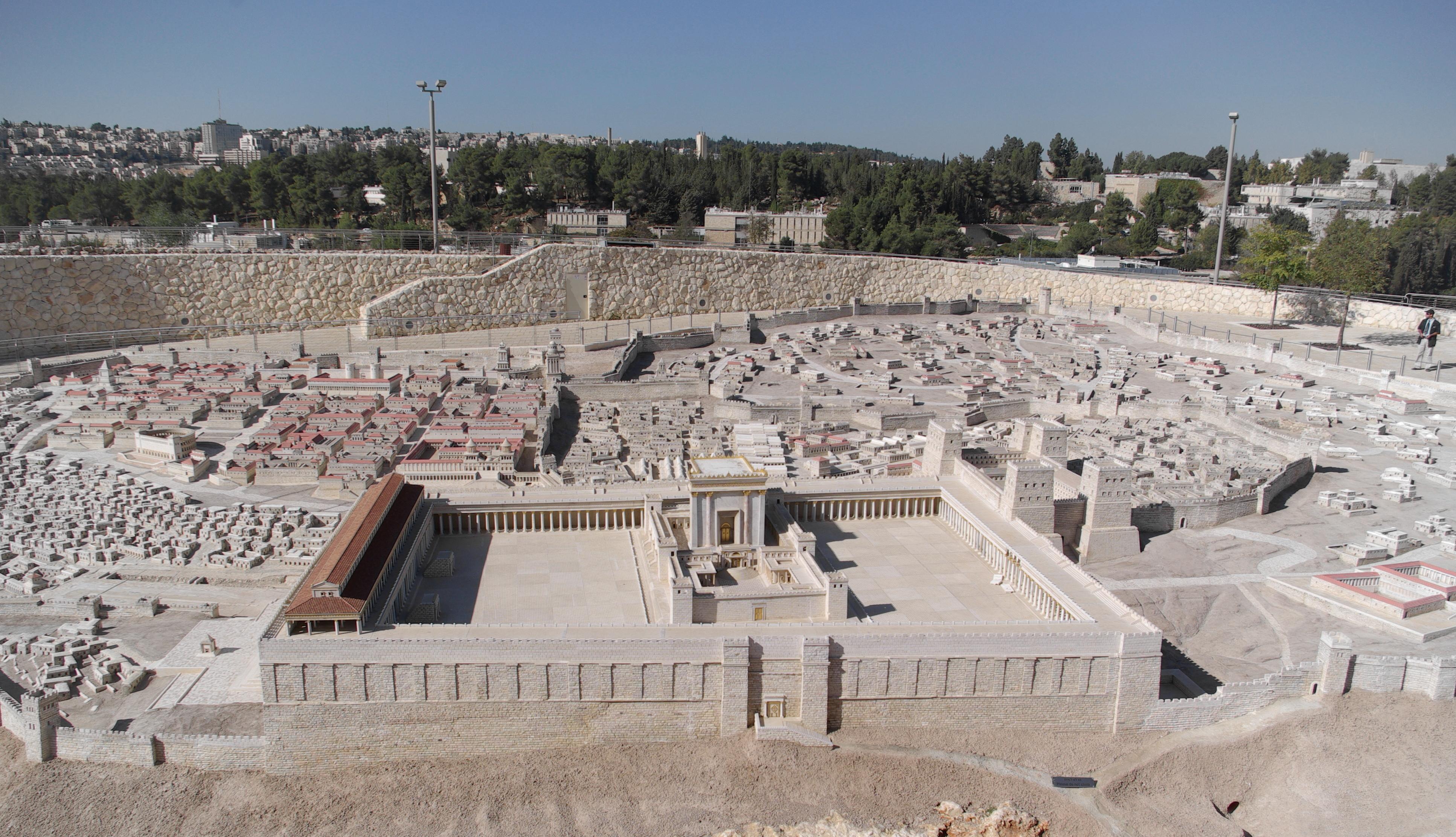 model ancient jerusalem