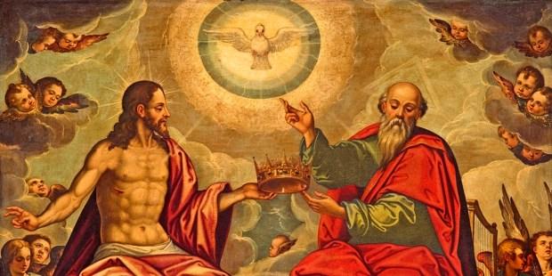 HOLY TRINITY PAINTING