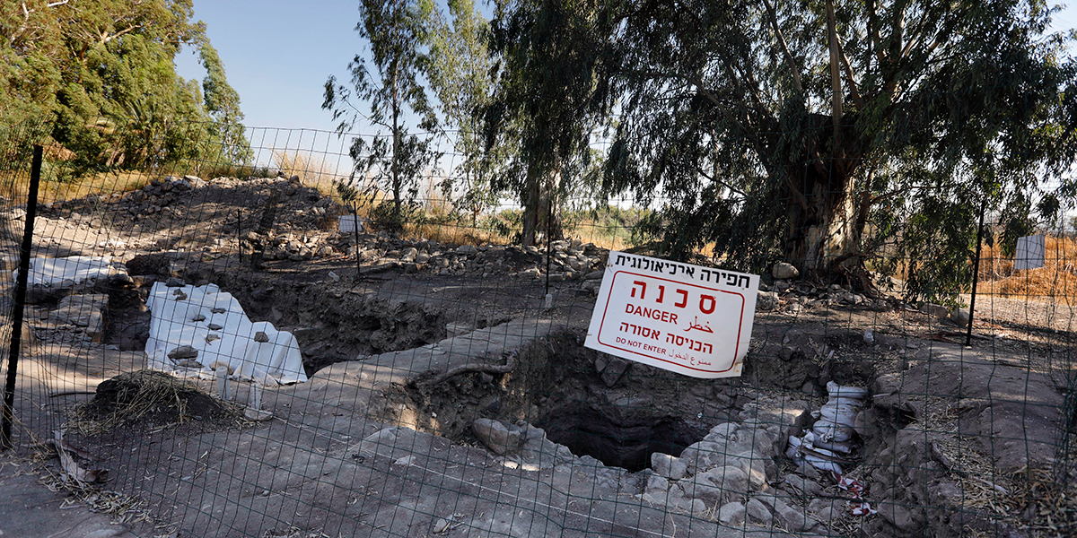 Archaeologists believe they have found the Church of the Apostles by Sea of Galilee