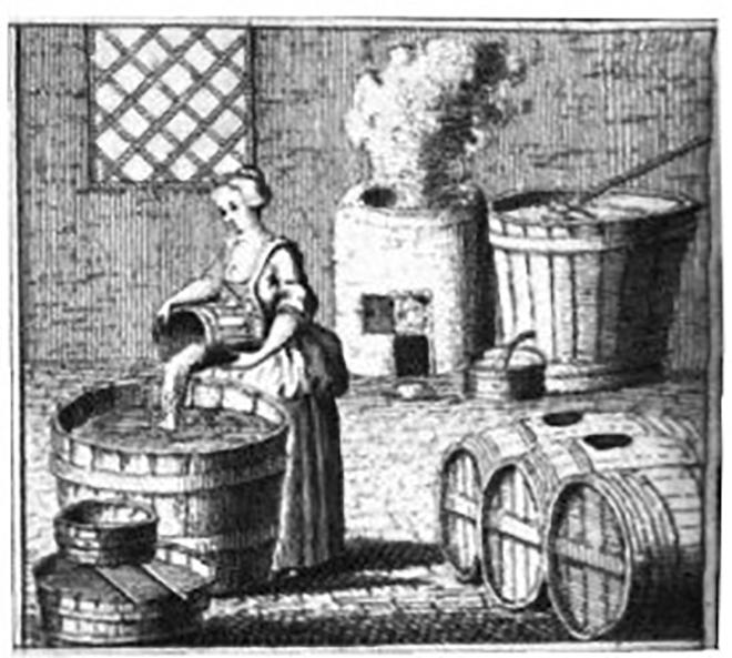 Woman Brewing Beer
