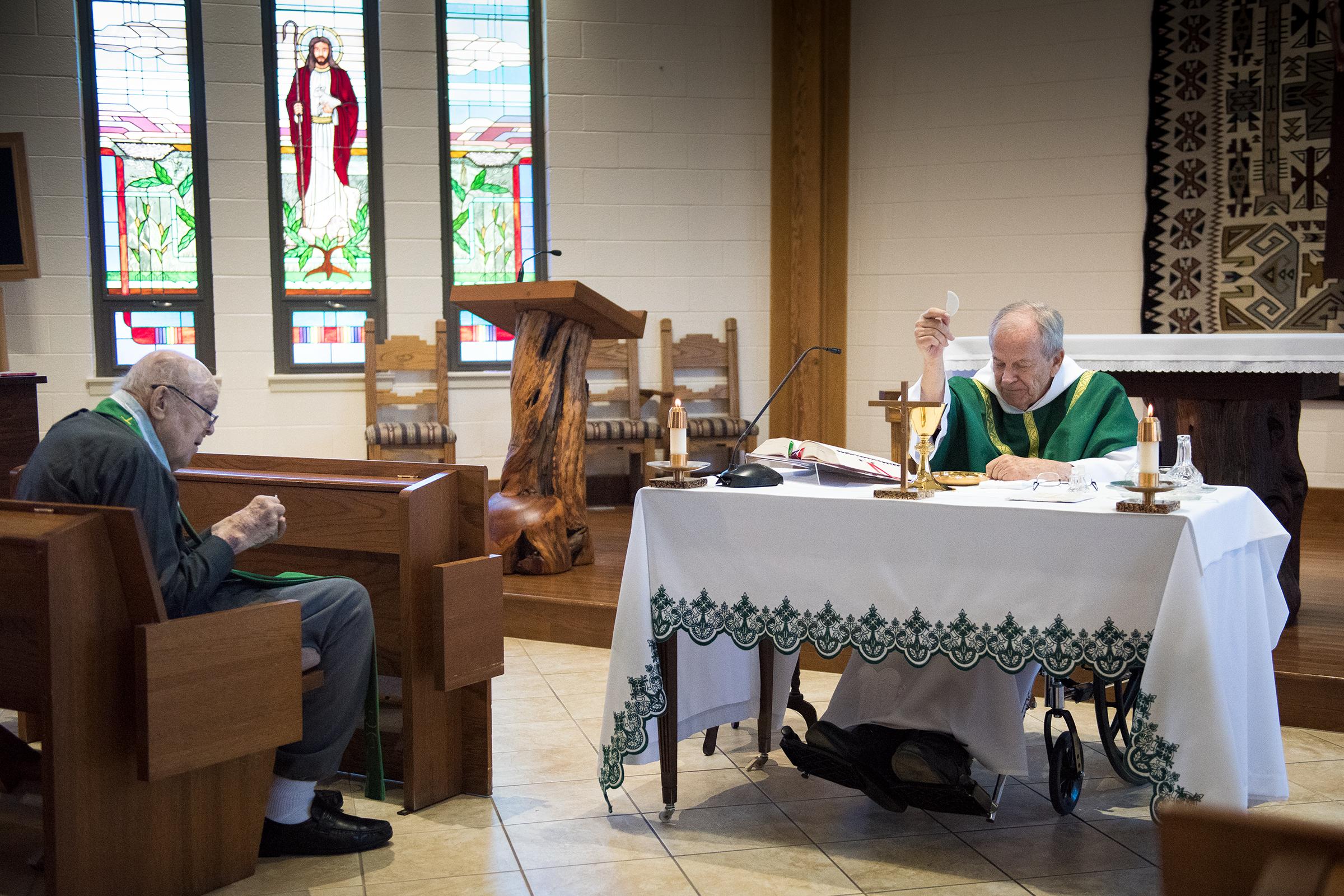 ELDERLY PRIESTS MASS