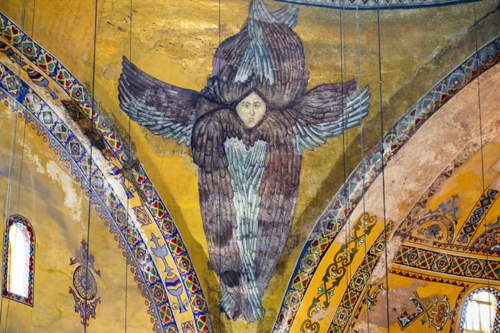 MOSAIC OF ANGEL