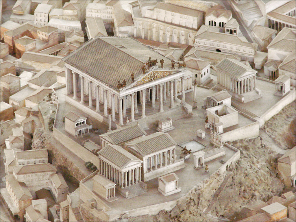 ANCIENT CITY MODEL OF ROME