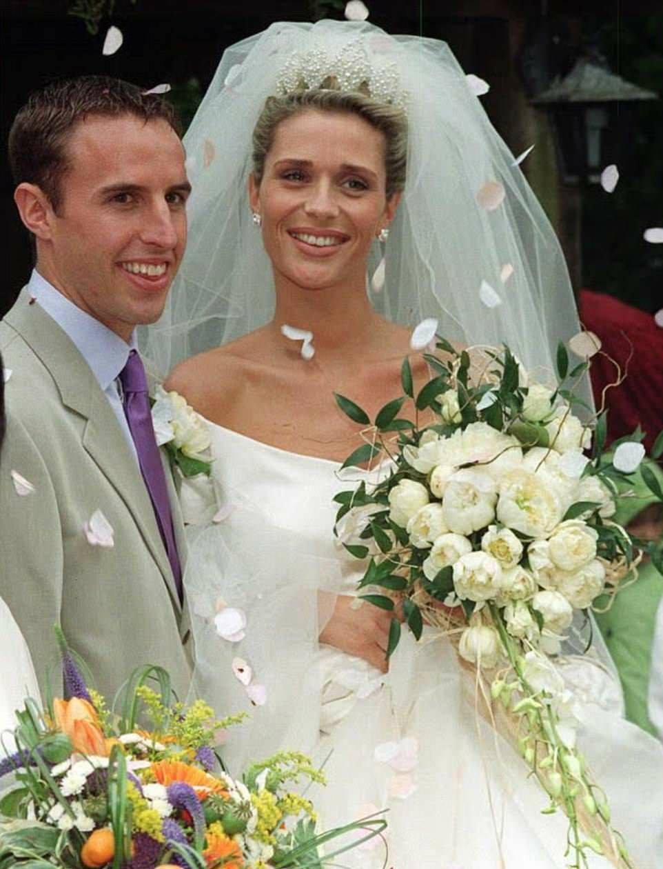 GARETH SOUTHGATE,ALISON SOUTHGATE,WEDDING