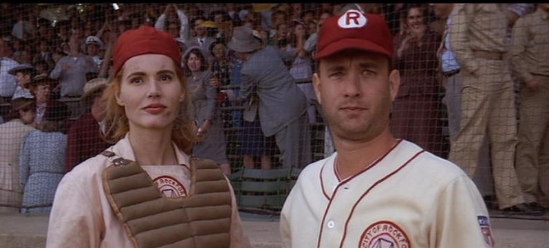 TOM HANKS,A LEAGUE OF THEIR OWN