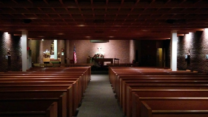 CATHOLIC CHAPEL: LOGAN: OUR LADY OF THE AIRWAYS