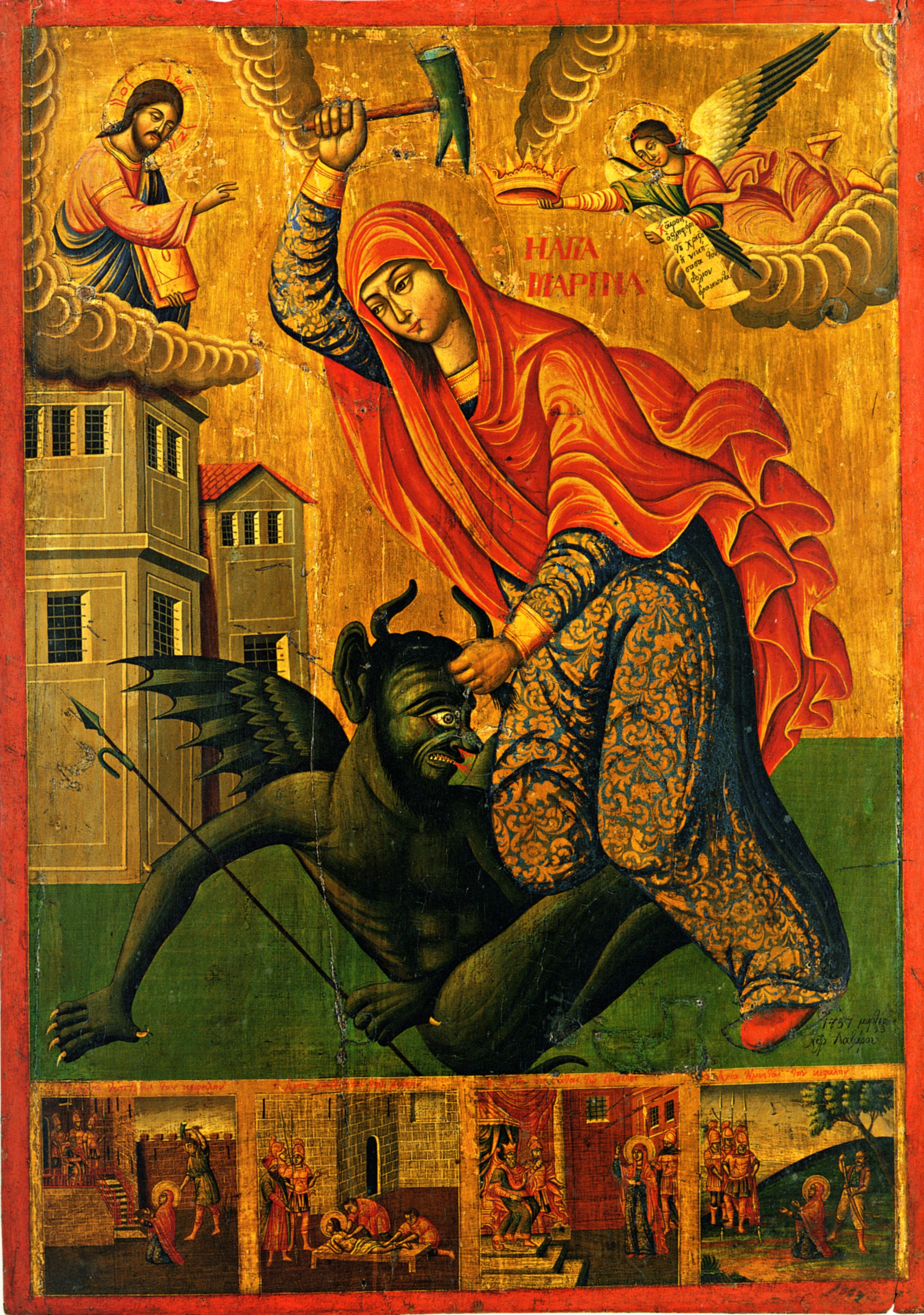 ST MARINA,DEVIL