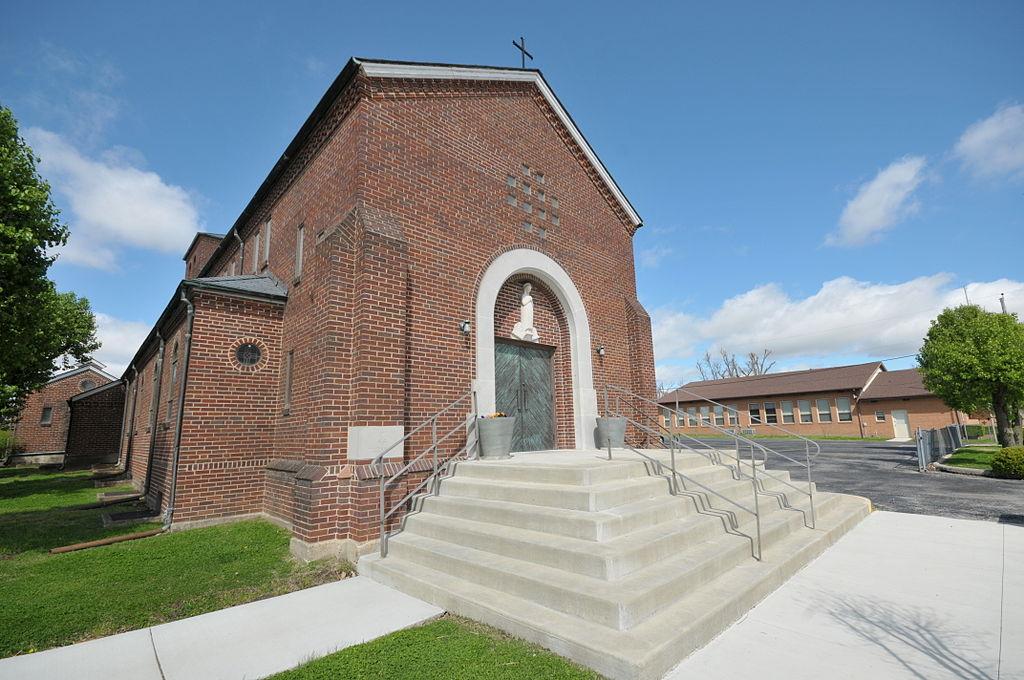 ST MARY'S,CATHOLIC,CHURCH,PARAGOULD