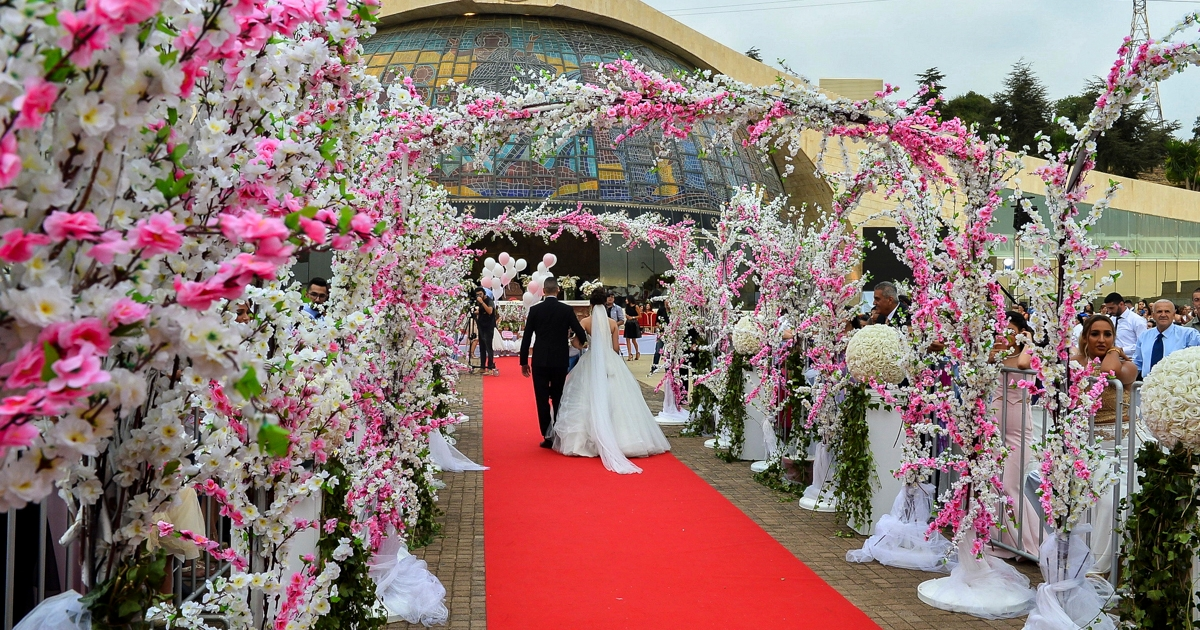 New York Times features mass wedding of Maronite Christians in Lebanon