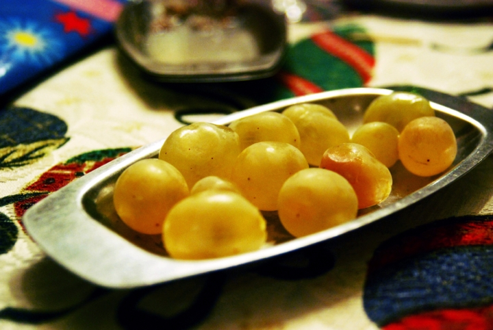 GOOD LUCK GRAPES; NEW YEAR