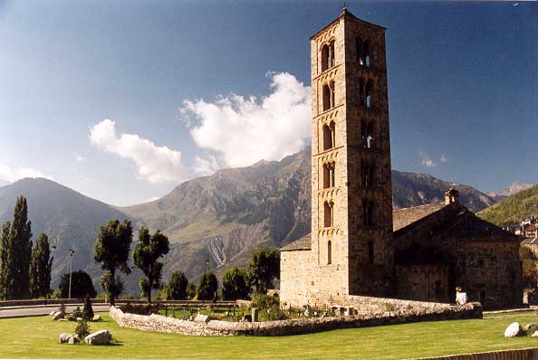 CHURCH OF SANT CLIMENT DE TAULL