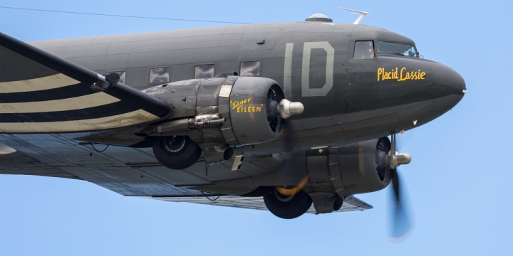 C-47 USED IN NORMANDY REENACTMENT