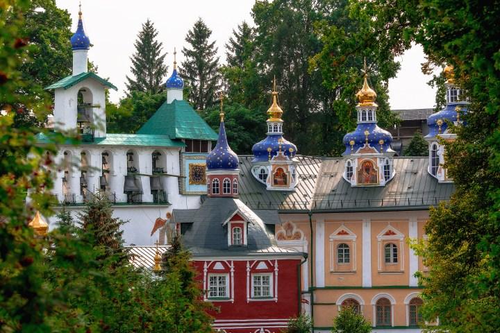 PSKOV, DORMITION CHURCH, CAVES MONASTERY
