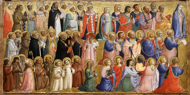 How many Catholic saints are there?
