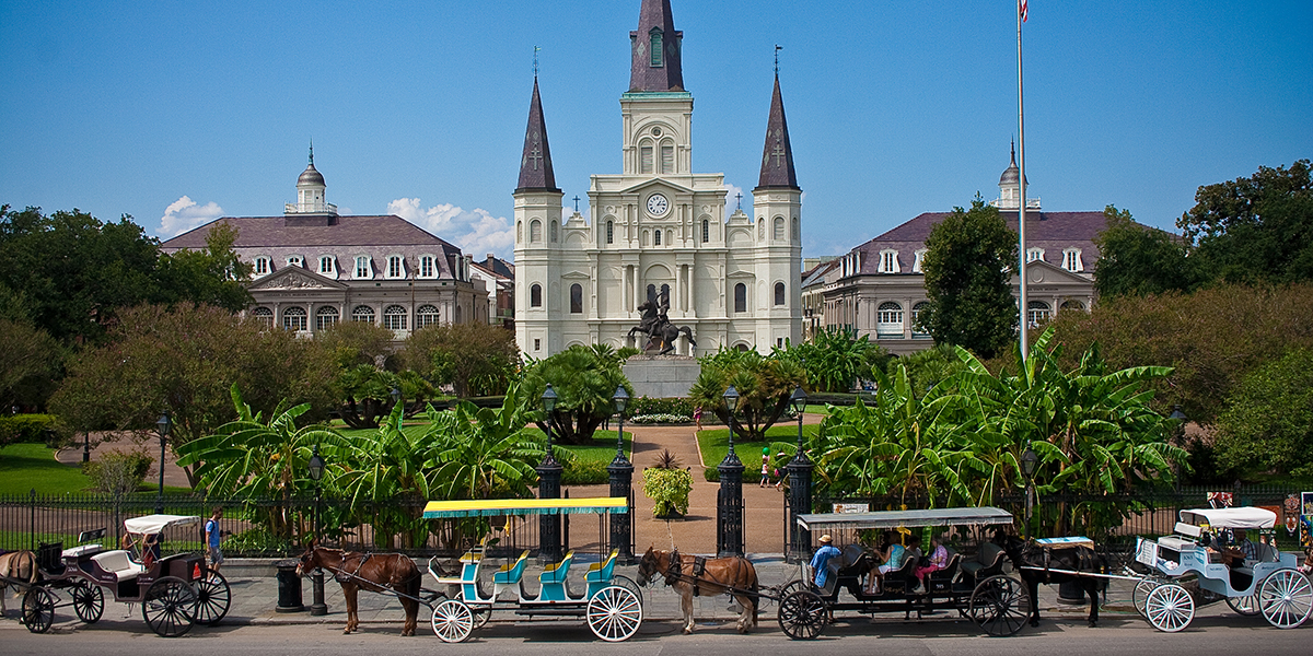 Make a pilgrimage to New Orleans' majestic St. Louis Cathedral
