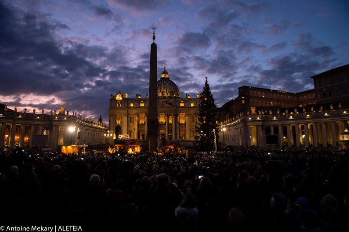 VATICAN CITY CHRISTMAS