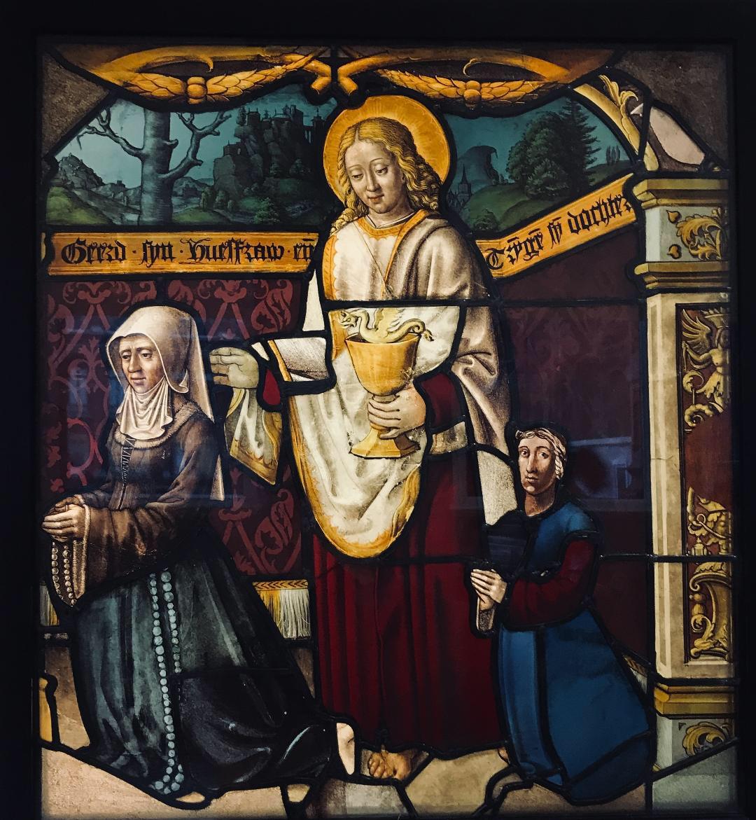 ST John the Evangelist; DRAGON