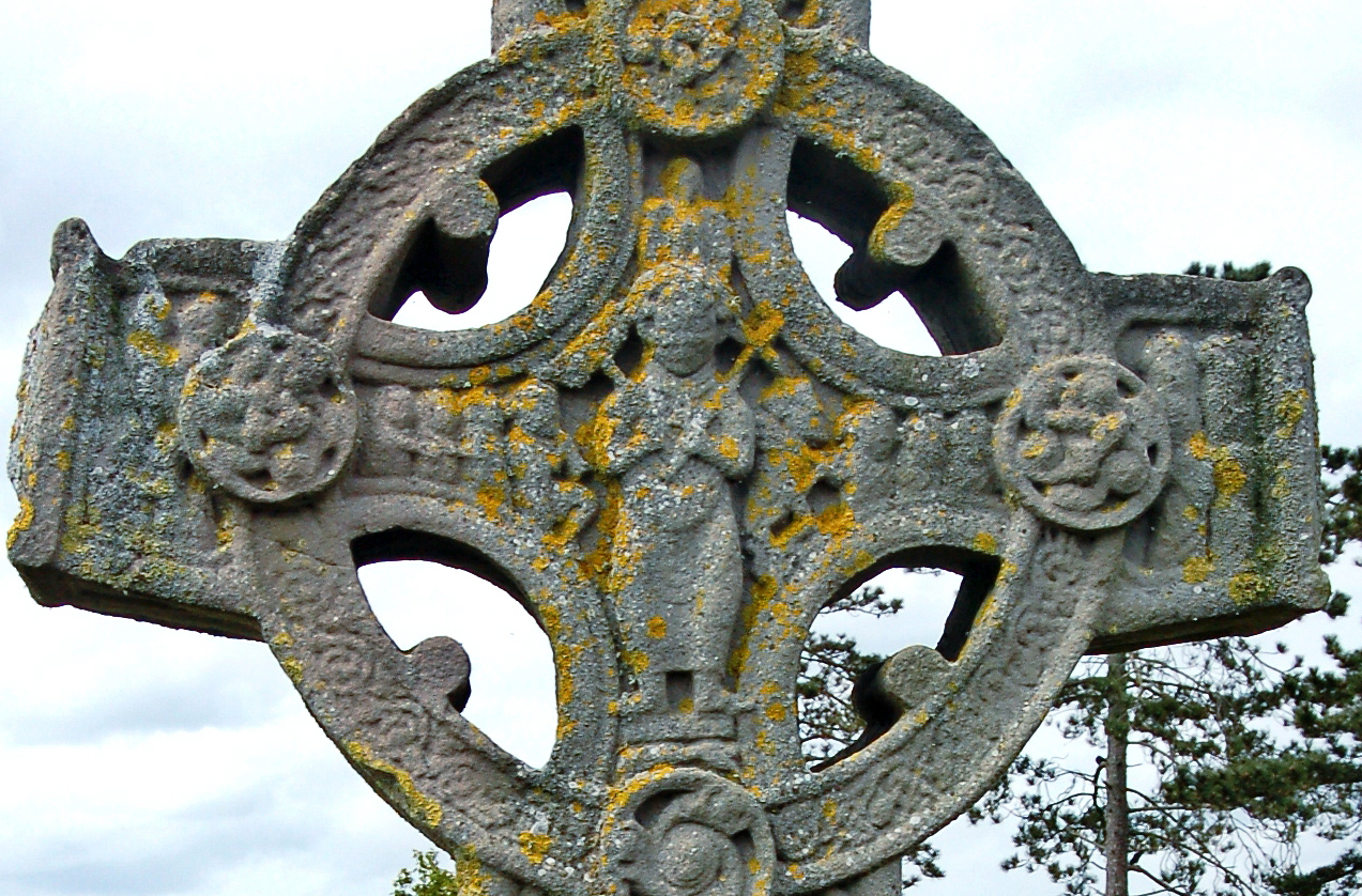 Irish high cross Clonmacnois