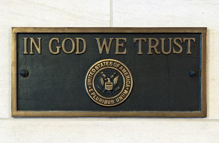 IN GOD WE TRUST; US CAPITOL