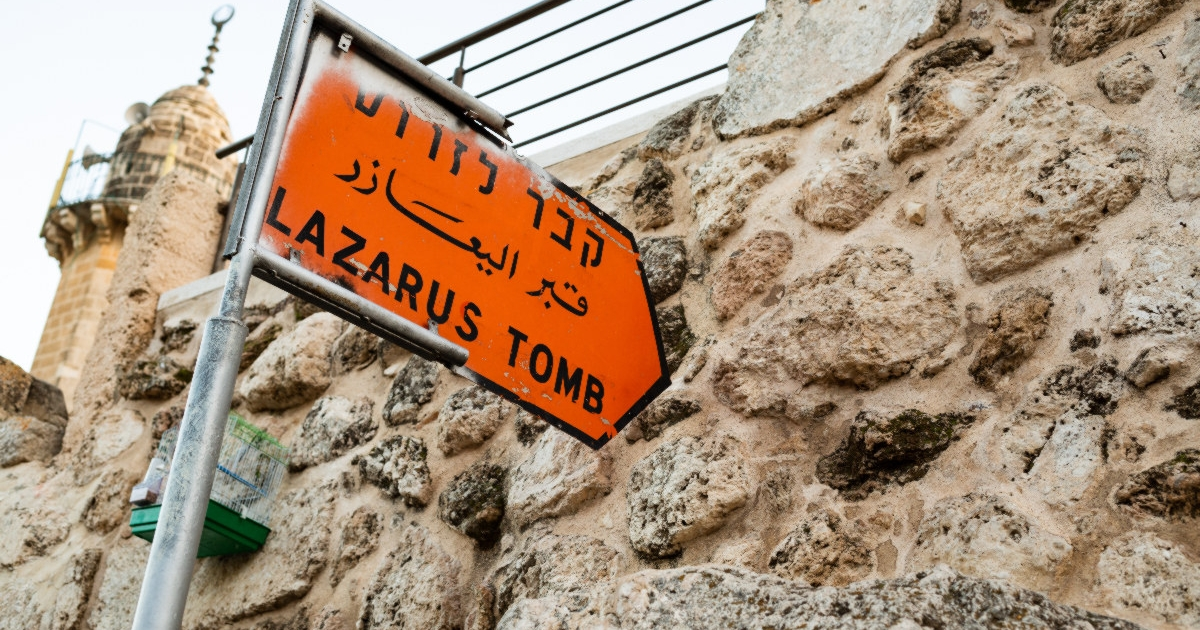"""Excavation in progress at the tomb of Lazarus: """"There are interesting elements"""""""