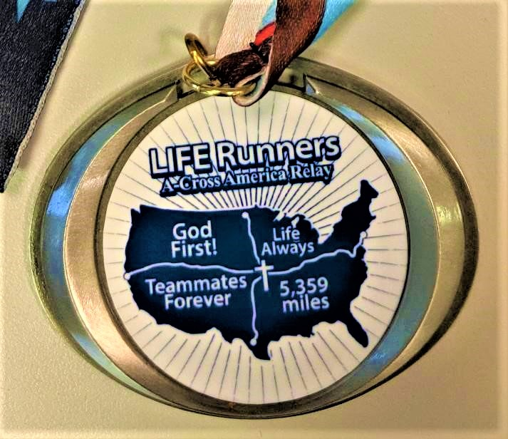 Life Runners finish cross-country relay