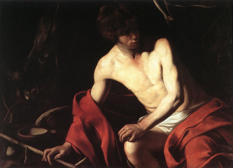 ST John the Baptist CARAVAGGIO