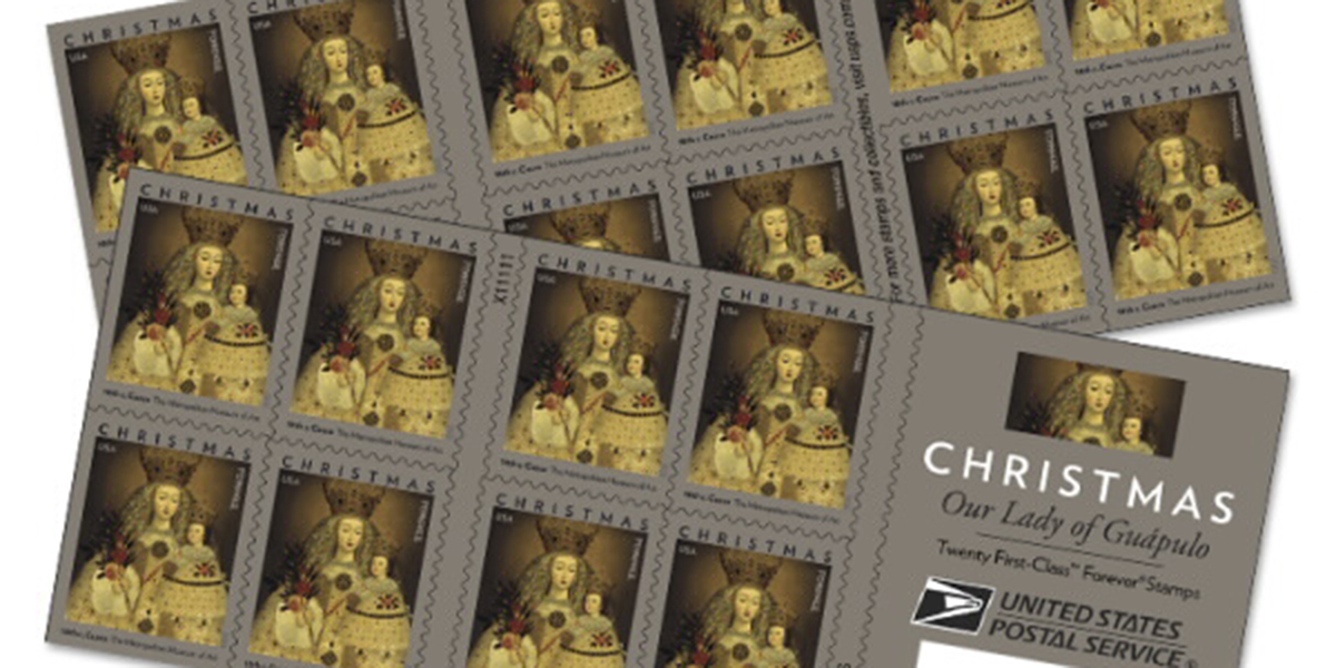 Postal Service to release new Christmas stamp of the Madonna and Child